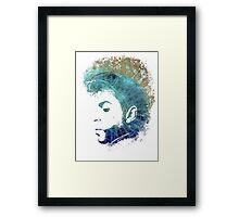 Music my love wind maps transparent Framed Print