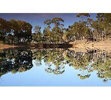 Mirror Mirror on the land Photographic Print