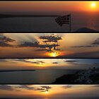 Santorini Sunset by Emma Holmes