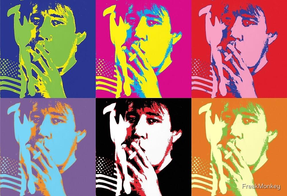 Bill Hicks - Pop Art Bill by FreakMonkey