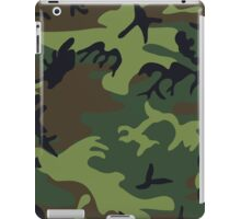 Army Camouflage by Chillee Wilson iPad Case/Skin