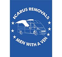 Icarus Removals Photographic Print