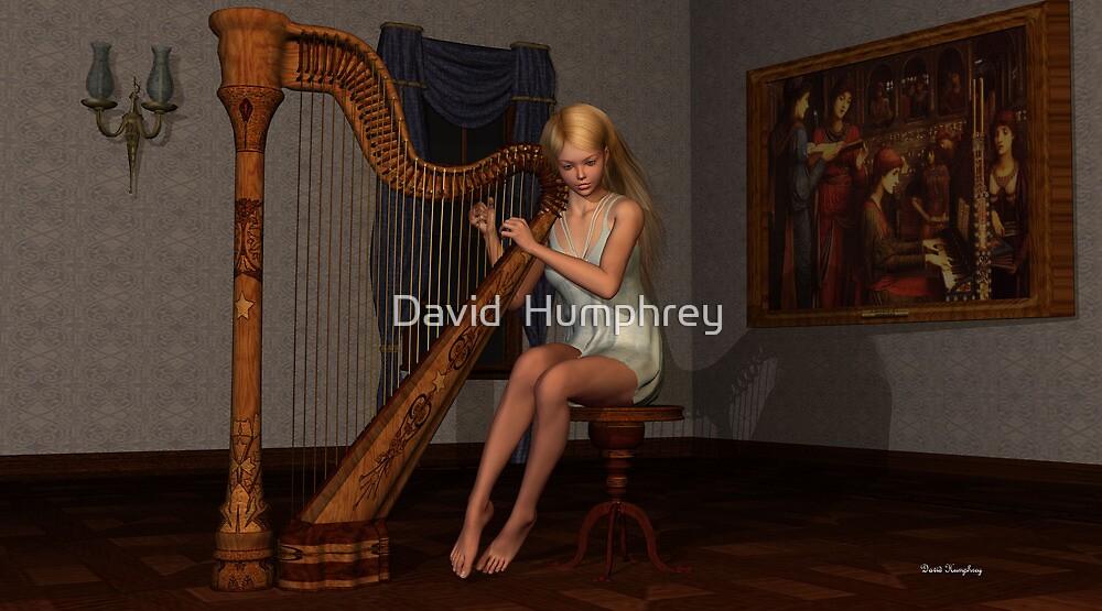 Fantasia On Greensleeves by David  Humphrey