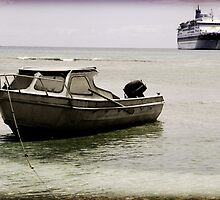 Big Ship, Little Boat by Ben McCarthy