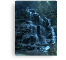 Empress Falls, Valley of the Waters, Blue Mountains Canvas Print