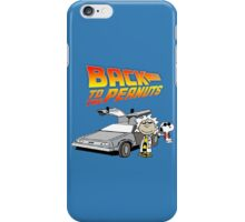 Back to the Future Peanuts iPhone Case/Skin