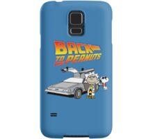 Back to the Future Peanuts Samsung Galaxy Case/Skin
