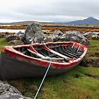 Red  Currach by EUNAN SWEENEY