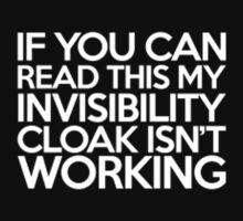 Invisibility-Cloak Kids Clothes