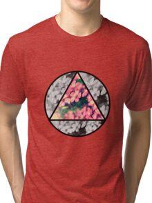 Floral collage  Tri-blend T-Shirt