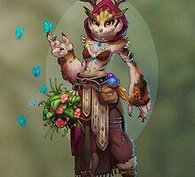 Owlbeast Druid by meganmk
