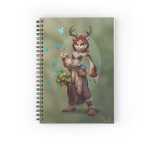 Owlbeast Druid Spiral Notebook
