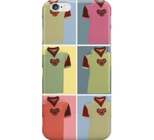Half Man Half Biscuit - Dukla Prague Away Kit iPhone Case/Skin