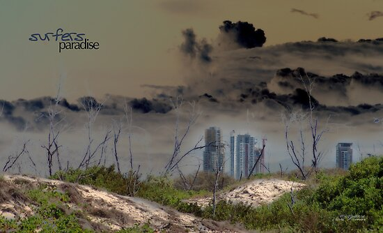 Surfers Paradise © Gold Coast 2050 by Vicki Ferrari