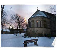 Sunset on the Parish . Poster