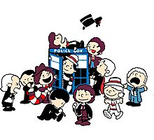 All Doctor Who Photographic Print