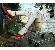 Grocery Diva Photographic Print