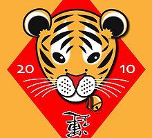 Year of the Tiger / Chinese New Year  by nekineko
