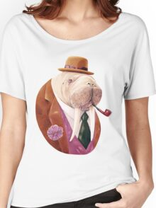 Worldly Walrus Women's Relaxed Fit T-Shirt