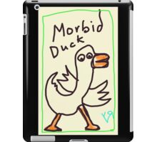 """Morbid Duck"" by Richard F. Yates iPad Case/Skin"