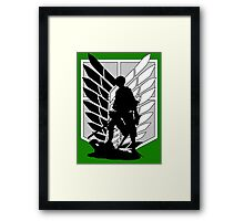 Attack on Titan Levi Framed Print