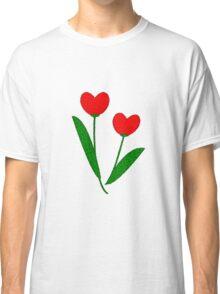 Tulip Hearts Classic T-Shirt