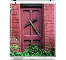 red door iPad Case/Skin