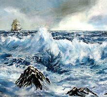 Seascapes II by Colin Cartwright