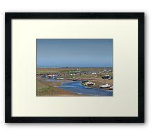 Blakeney Harbour North Norfolk Framed Print