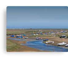 Blakeney Harbour North Norfolk Canvas Print