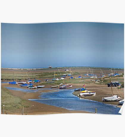 Blakeney Harbour North Norfolk Poster