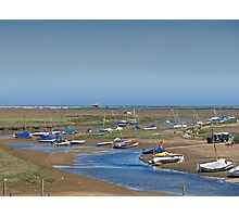 Blakeney Harbour North Norfolk Photographic Print