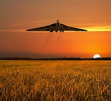 Vulcan Farewell Fly Past by J Biggadike