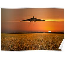Vulcan Farewell Fly Past Poster