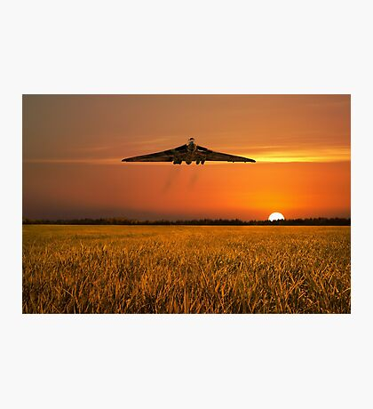 Vulcan Farewell Fly Past Photographic Print