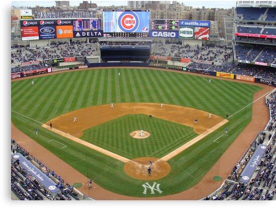 Yankee Stadium April 4, 2009 Cubs Vs Yankees by bmwlego