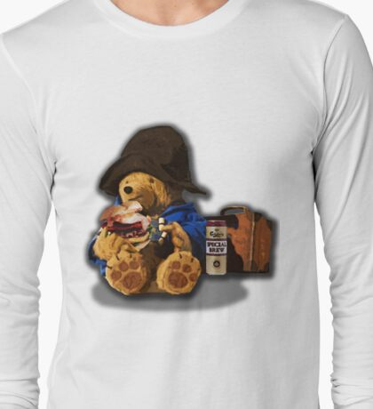 Pissington bear  Long Sleeve T-Shirt