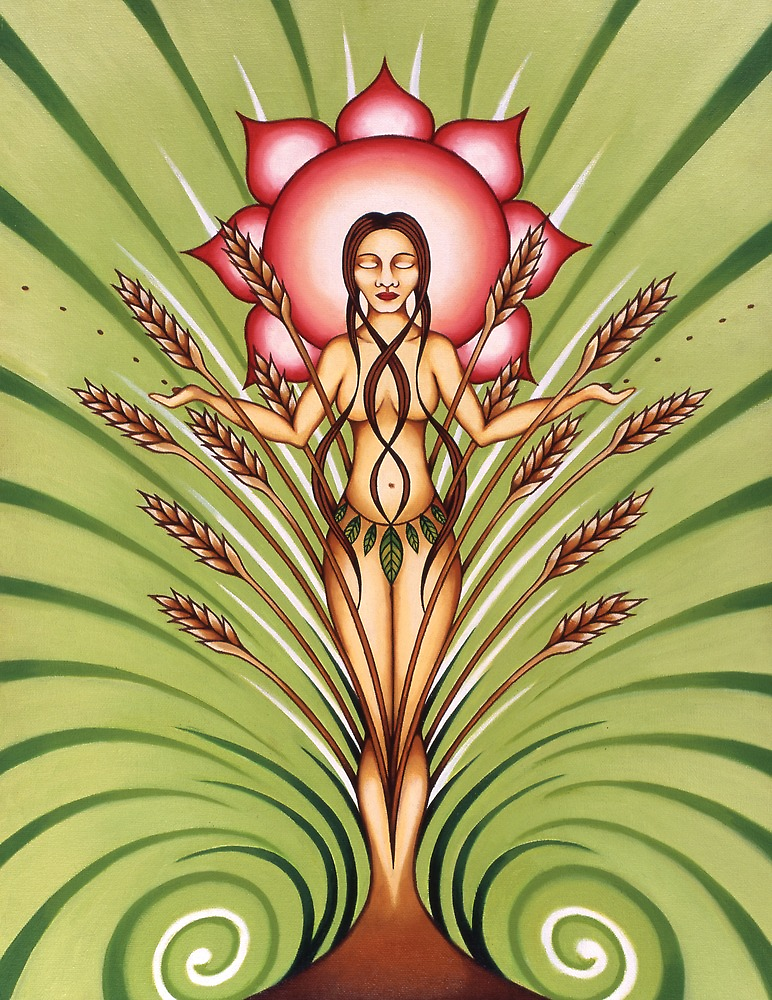 Goddess of Earth by Sarah Jane Bingham