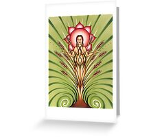 Goddess of Earth Greeting Card