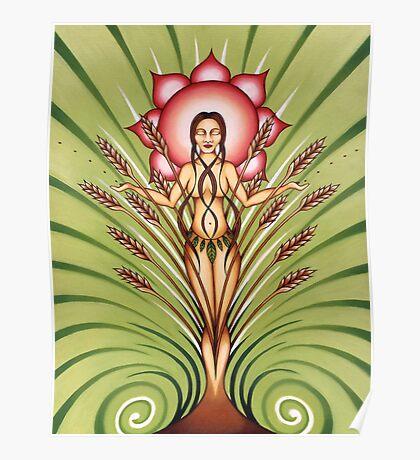 Goddess of Earth Poster