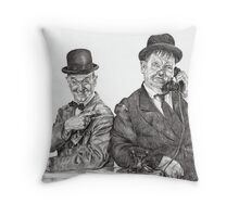 'A call for Ollie' Throw Pillow