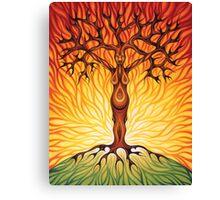 Goddess of Fire Canvas Print
