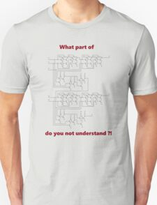 Full Adder Circuit T-Shirt