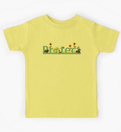 Protect our planet Kids Tee