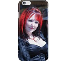 Whitby Goth Weekend 6 iPhone Case/Skin