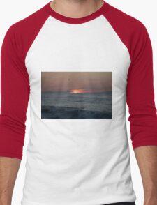 Ocean City, Maryland Series - Sunrise Men's Baseball ¾ T-Shirt