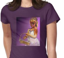 The Flower Girl Womens Fitted T-Shirt