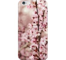 Vintage Cherry Blossoms iPhone Case/Skin
