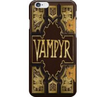 Vampyr Book iPhone Case/Skin