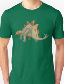 Stegosaurus Dinosaur Illustration Unisex T-Shirt